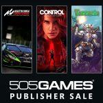 505 Games 發行商特惠活動,最高 50% 折扣優惠!